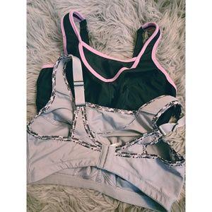 Glamorise Intimates & Sleepwear - (2) Glamorise Elite Performance Sport Bras